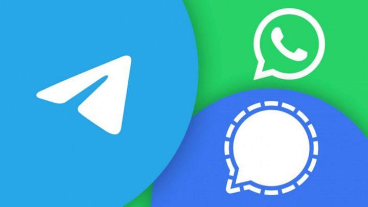 Signal Vs Telegram Dan WhatsApp