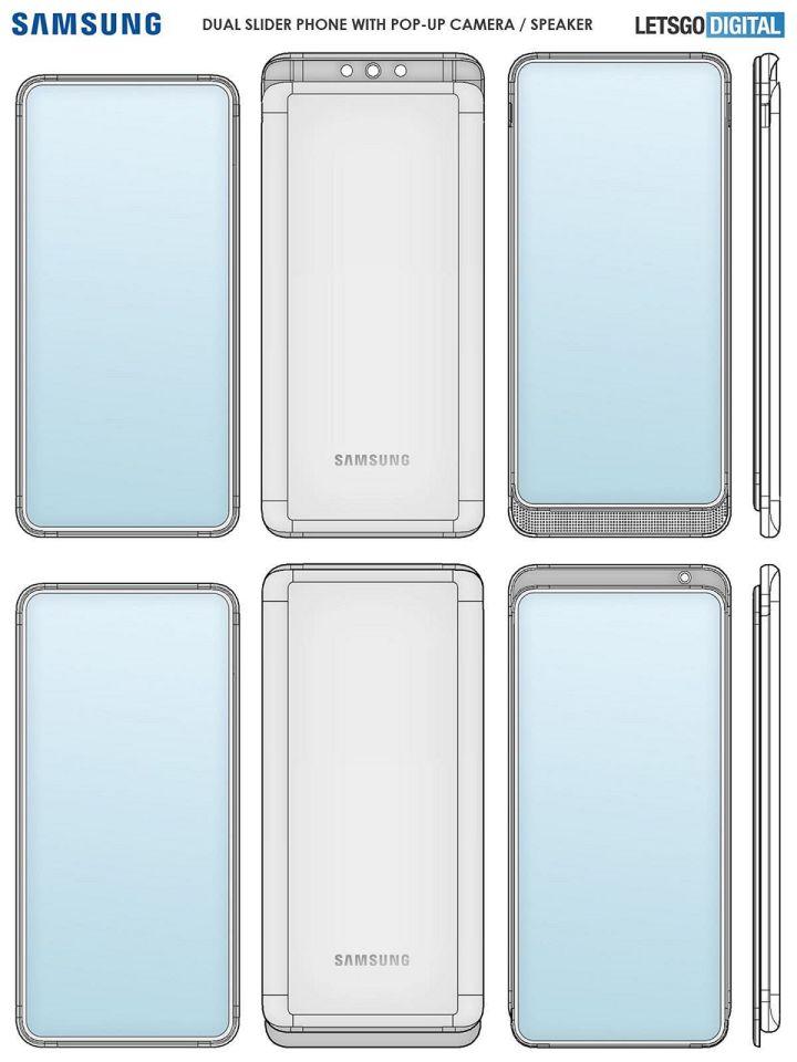 Gambar Render Galaxy A82 Yang Akan Segera Hadir