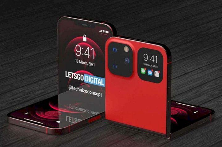 Konsep Desain IPhone Flip