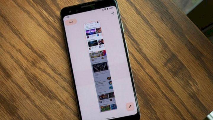 Fitur Tangkapan Layar Panjang Pada Android 12