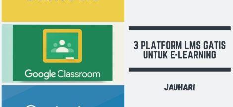 3 Platform LMS Gatis Untuk E Learning