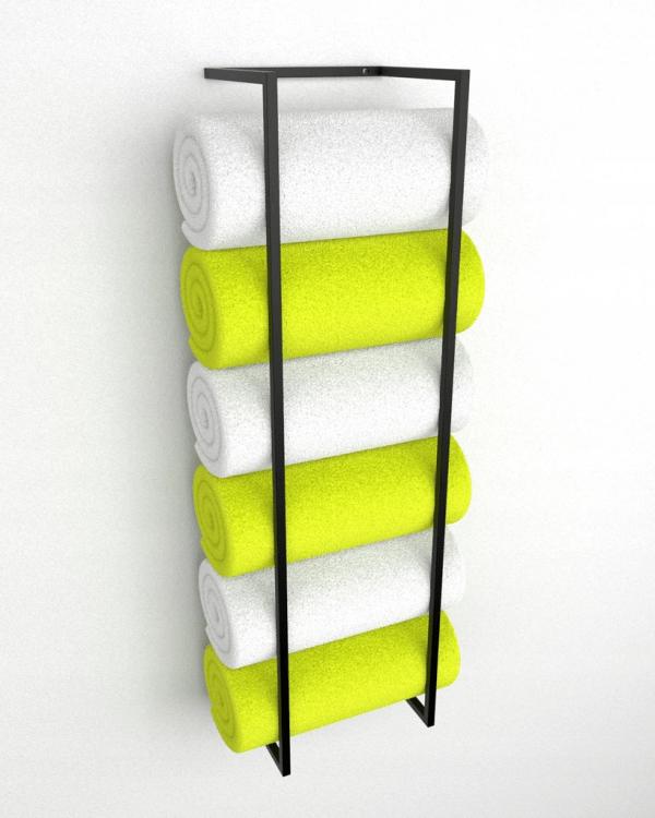 rankšluosčių stovas sieninis