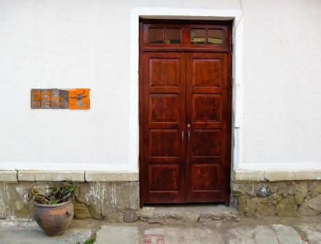Signalétique du centre culturel « Proyecto mARTadero », Cochabamba, Bolivie