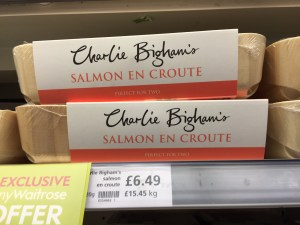 Just a sampling of prepared foods offered at Waitrose