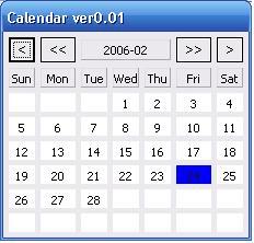SWT Calendar Calendar « SWT JFace Eclipse « Java