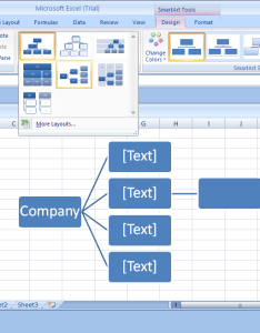 live preview of the layout appears in current shape also change to an organization chart rh java