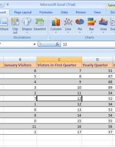 Click anywhere within the table range insert tab pivottable button also create  or pivotchart report rh java