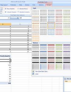 Format  pivottable report also pivotchart rh java