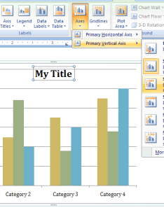 Then click to show hide or position axis labels tick marks also change the chart legend data and titles rh java