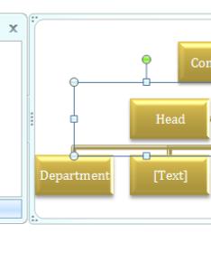 Change organization chart lines to dotted also smartart shape rh java