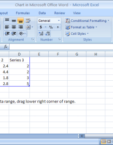 To create  chart change the sample data in excel worksheet also insert and microsoft office rh java