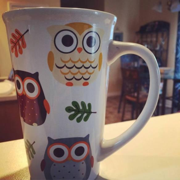 9.28 owl mug