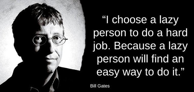Billgates Quote about Programmers