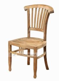Batavia teak dining chairs indoor outdoor furniture Jepara ...