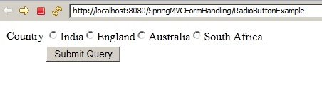 SpringMVC_RadioButtonExample