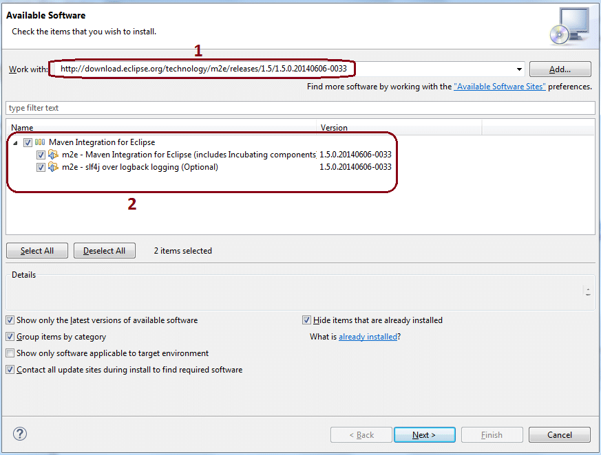 Convert Java project to Maven project