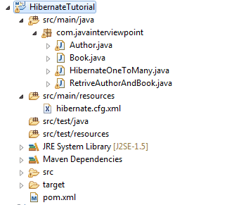 Hibernate One-To-Many Mapping Example