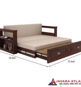 Jual Kursi Bale Bale Minimalis Jati Double Bed Furniture Jepara Murah Berkualitas