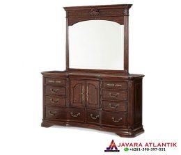 Produksi Meja Rias Mewah Kayu Jati Furniture Jepara Berkualitas | Jual Meja Rias Mewah Jati Natural Elegan Murah