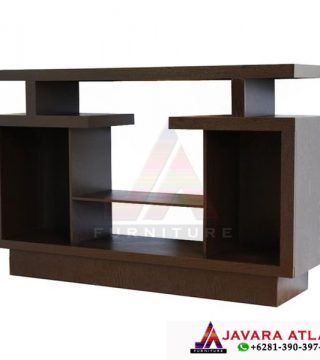 Bufet Tv Jati Minimalis Simpel Modern Model Rak Tv Minimalis Terbaru