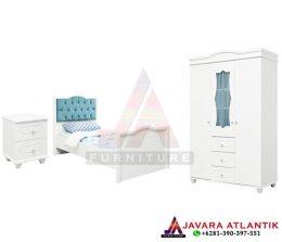 Set Kamar Tidur Anak Minimalis Modern | Konsep Furniture Kamar Tidur Anak Dengan Desain Minimalis
