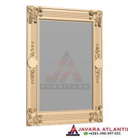 Jual dan Produksi Cermin Hias Dinding Mewah Ukiran Jepara Berkualitas Ekspor