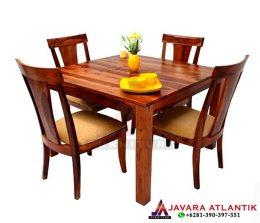Jual dan Produksi Set Meja Makan Jati Minimalis | Furniture Jepara Hight Quality
