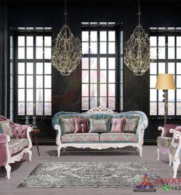 Jual dan Produksi Langsung Satu Set Sofa Tamu Ukir Mewah Dengan Kualitas Ekspor