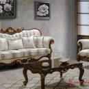 Review Ruangan Sofa Set Ruang Tamu Mewah Klasik Ukiran