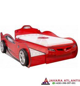Type 2 Tempat Tidur Anak Mobil Balap Karakter