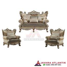 Set Kursi Tamu Royal Ukir Luxury JA 0161