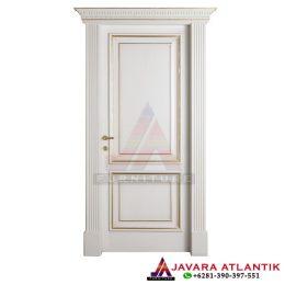 Pintu Single Kamar Tidur Minimalis Panel Kotak