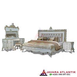 Kamar Tidur Set Ukir Klasik Elegan Duco