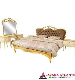 Set Kamar Tidur Gold Leaf Luxury Style