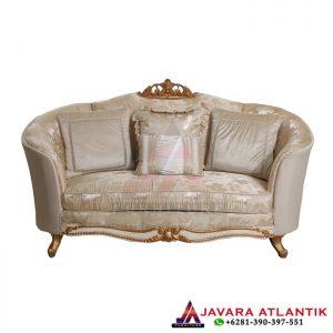 Set Sofa Tamu Ukir Luxury Klasik Gold, Jual Sofa Tamu Ukir 3 Seater