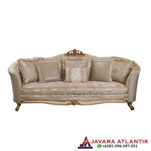 Sofa Tamu Ukir 3 Seater Mewah