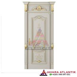 Harga pintu single ukir, Kusen Pintu Ukir Duco Luxury Klasik JA0225