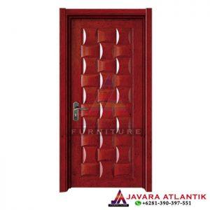 Pintu Rumah Jati Minimalis Single Panel Antiq