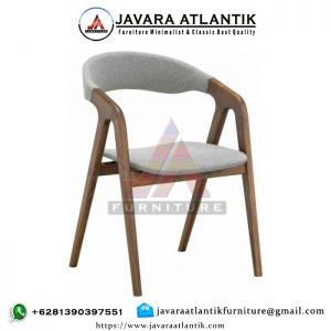 Kursi Cafe Kayu Jati Minimalis JAF0275 Modern