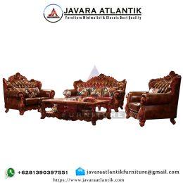 Kursi Sofa Jati Ukir Royal Jepara JAF0281 Mewah