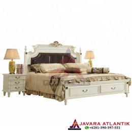 Set Tempat Tidur Laci Minimalis Klasik