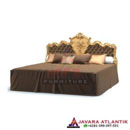 Tempat Tidur Ukir Luxury Golden Classic
