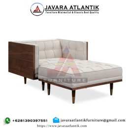 Kursi Sofa 1 Seater & Sofa Stool Box