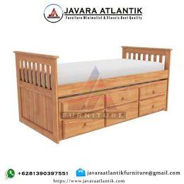 Ranjang Tidur Anak Minimalis Double Bed