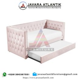 Sofa Bed Minimalis Double Shabby