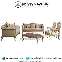 Sofa Tamu Ukir Satu Set Mewah Klasik