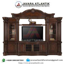 Bufet Tv Ukir Jati Mewah JAF 0344