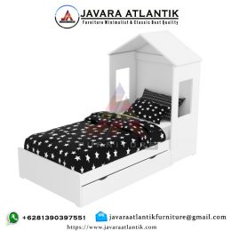 Ranjang Tidur Anak Minimalis JAF 0348 Double Bed