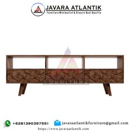 Buffet Tv Jati Minimalis Retro Style
