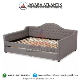 Sofa Tempat Tidur Minimalis Modern Double Bed
